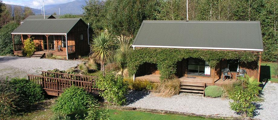 The Cottages, Lake Brunner Moana Motel Accommodation New Zealand